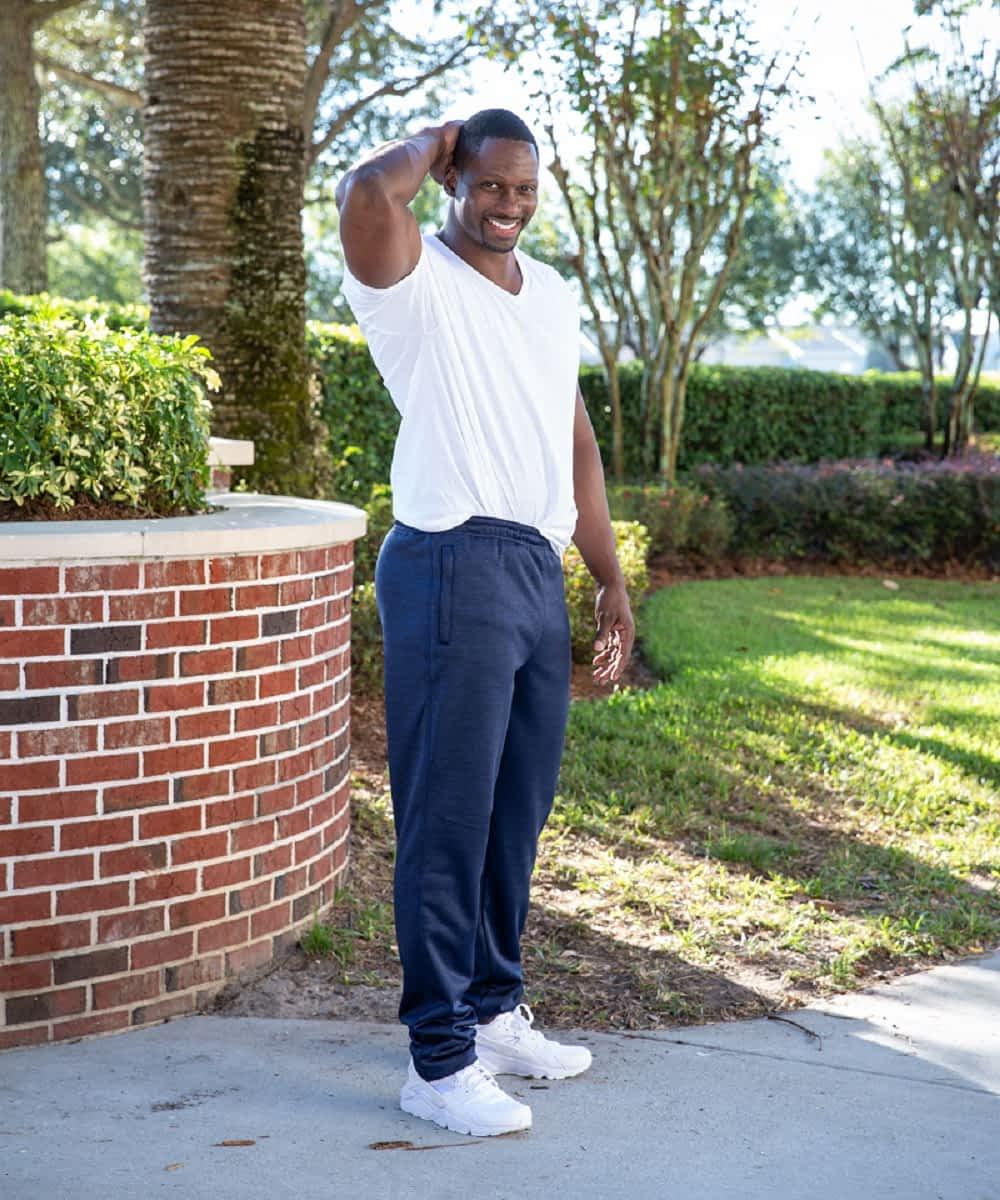 Speedy Tall Men's Athletic Pant Blue