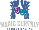 Magic Curtain Productions Logo, community theater