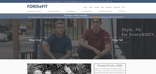 Take a whole NEW look at FORtheFIT.com
