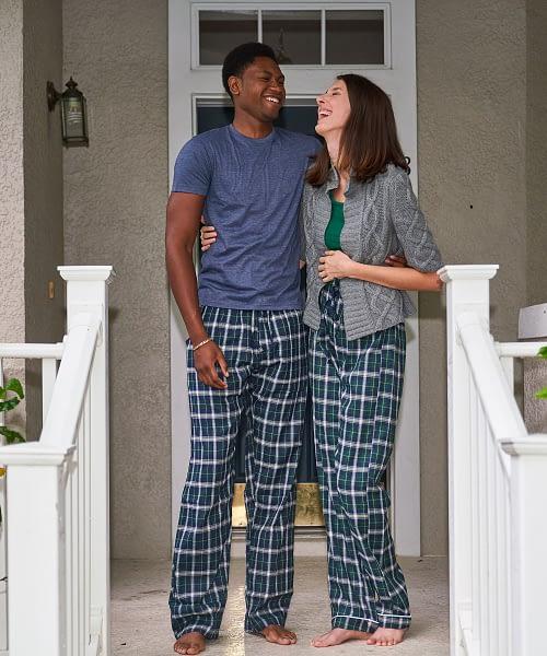 product image tall and short mens womens pajama bottoms
