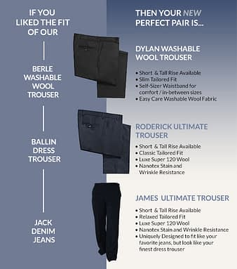 If You Liked Our Old Trouser Styles…