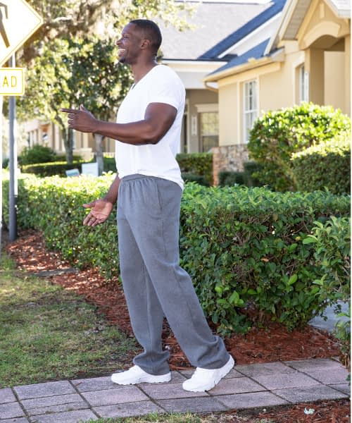 Classic Fleece Athletic Pant for Tall Men