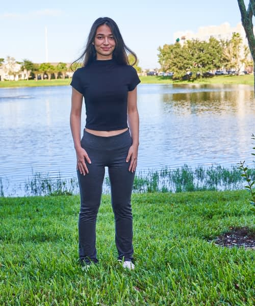 Product Image Graphite Yoga pant Petite