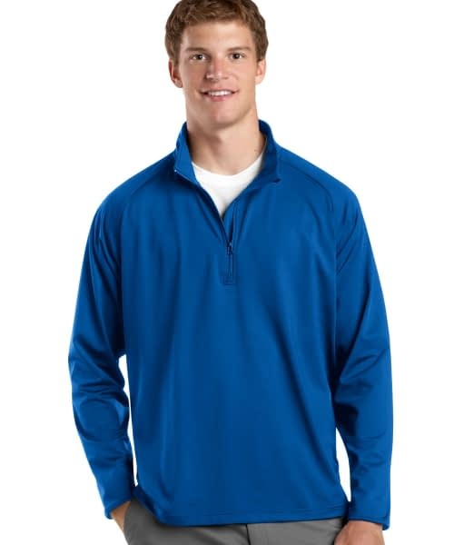 Sport Stretch Pullover For Short Men - Blue