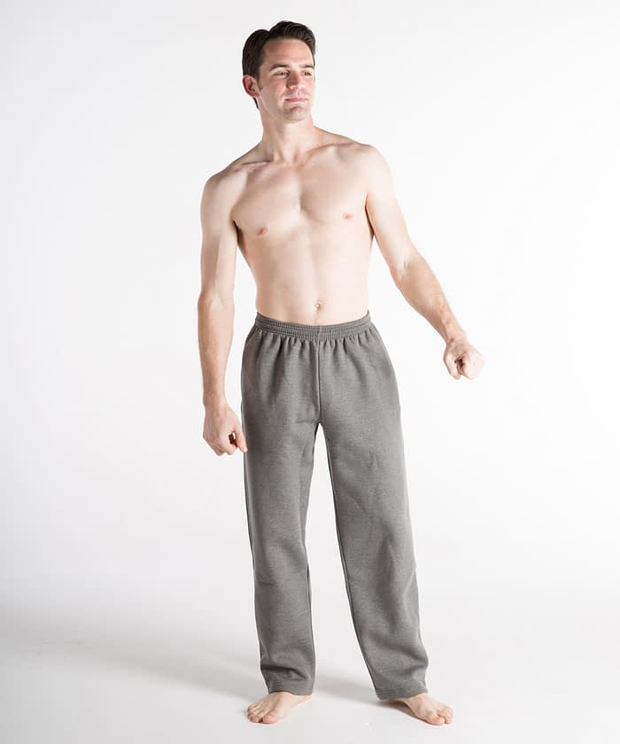 Fleece Athletic Pants For Tall Men - Graphite