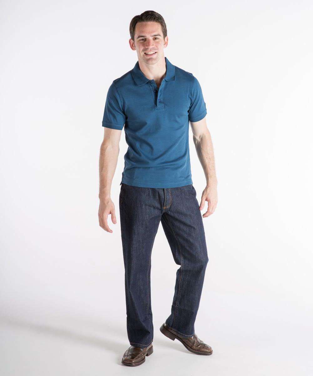 Jack Denim Jeans For Short Men - Deep Indigo