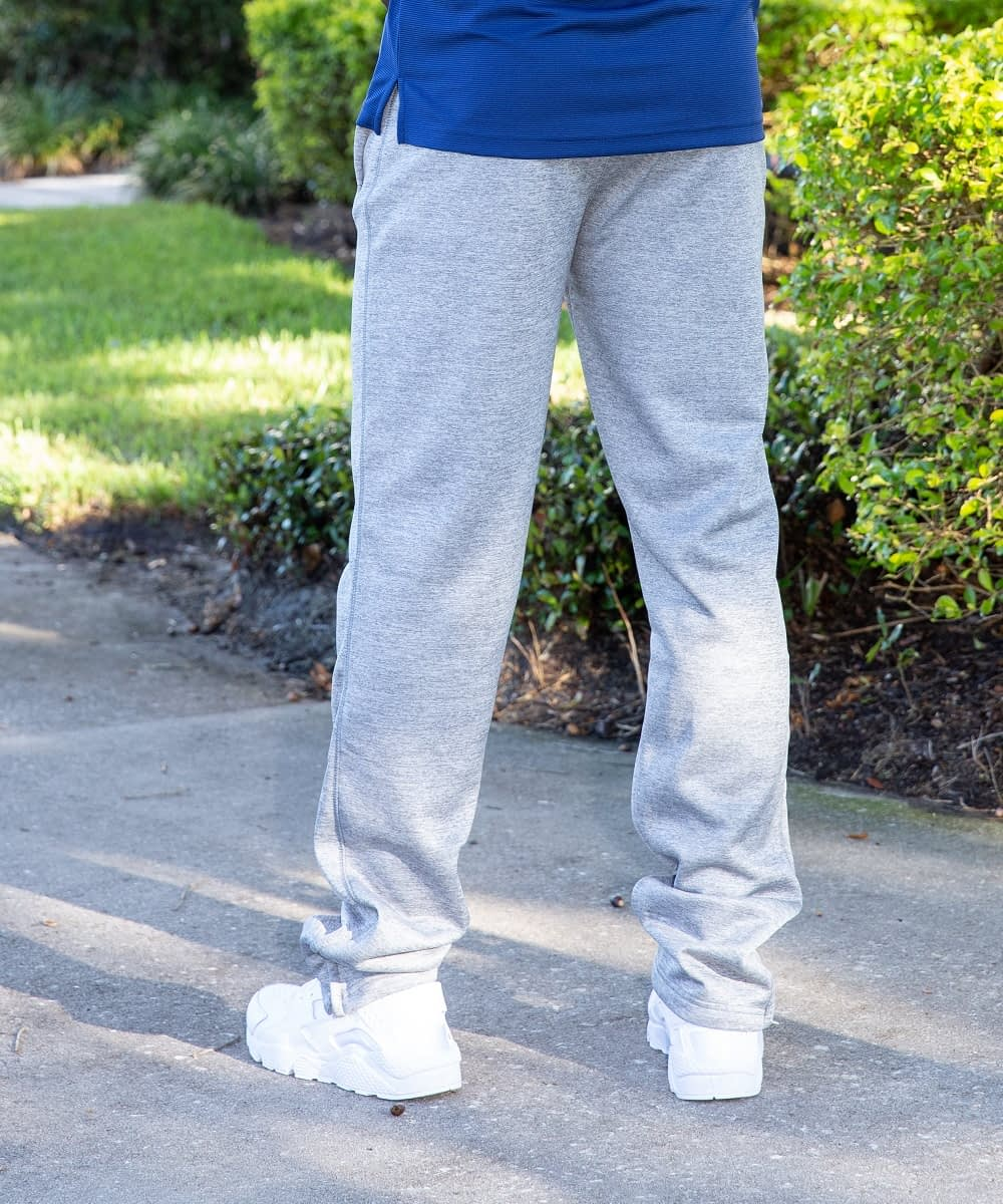 gray speedy athletic pant for short men