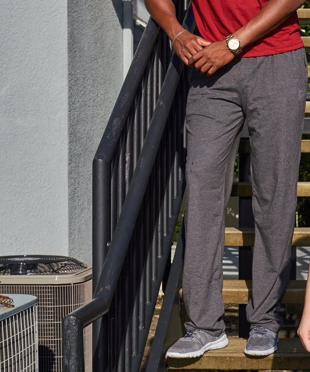 Tall Men;s Classic COtton Sweatpant Style Product Catalog Photo