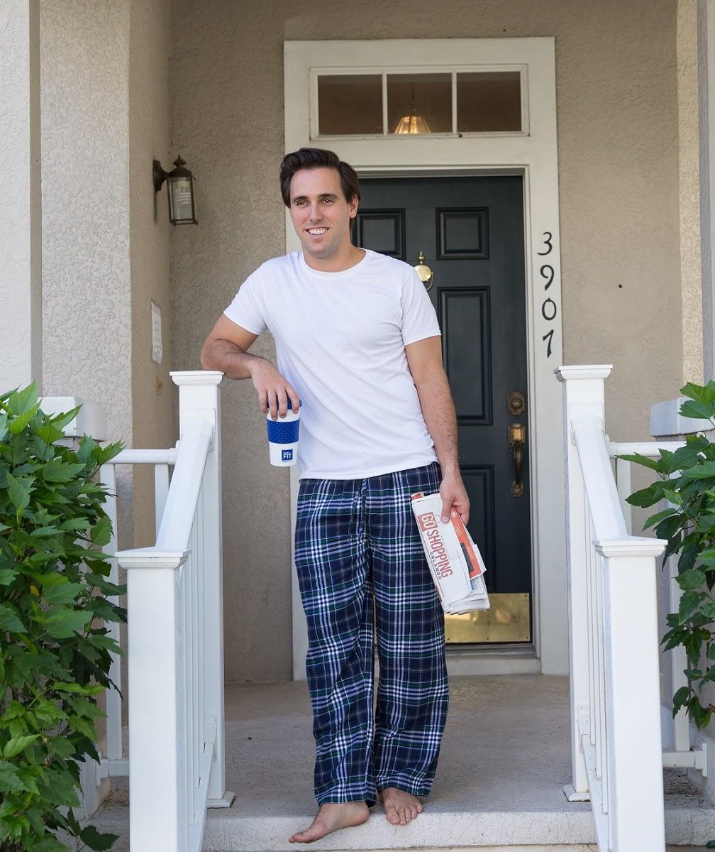 Plaid Flannel Pajama Bottoms